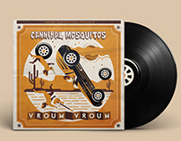 vinyle cover pour Cannibal Mosquitos