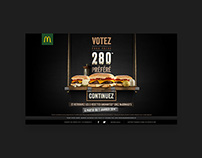 Mc Donald's Best 280 vote