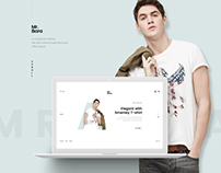 Mr.Bara - Fashion Minimal Concept
