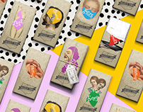 Seven Deadly Sins Chocolate Bar Packaging Design