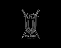 Vizards Securities Branding Design