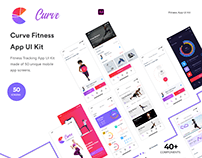Curve - Fitness App UI Kit