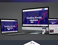 Website Design & Development for Seeding Kerala