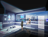 The S-Dream Hall Immersive Intelligence Life Center