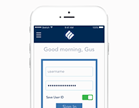Eastern Bank Mobile App Login: Redesign