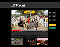 BET.co.za Interactive Ad Campaign - Celebrity Betmatch