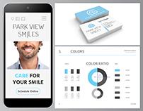 Branding-Park View Smiles