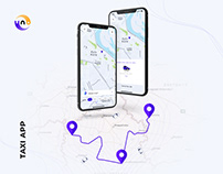 UX / UI Design for a Taxi App