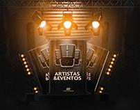 Flyer Para Artistas & Eventos - 25 Modelos Editáveis
