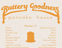 Buttery Goodness Menu