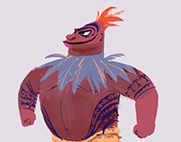 MOANA Character designs