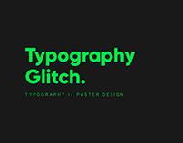 Typography Glitch