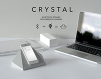 CRYSTAL- speaker and charger