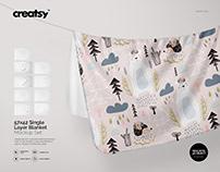 Single Layer Blanket Mockup Set