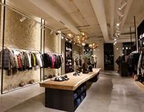 Spain, retail shop