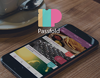 Global UI/UX Update of Passfold App