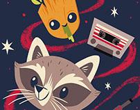 Baby Groot & Rocket Raccoon