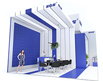 Exhibition stands for SGS company