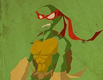 Comics poster - Ninja Turtles (Raphaël)