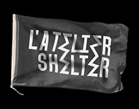 L'Atelier Shelter - Brand identity