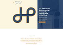 Hustle Co-Working Print Materials & Web Design