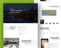 PSD Template Designing Project