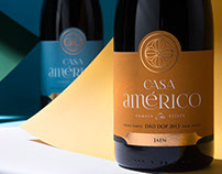 Casa Américo || Wine Packaging Design