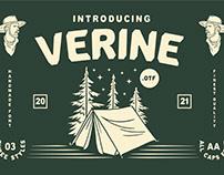 VERINE - CLASSIC ELEGANT FONT
