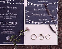 Lutz Wedding Invitation