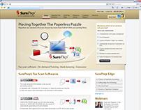 Redesigning of Sureprep's Corporate website
