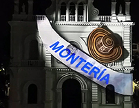Videomapping Montería 2014-2015