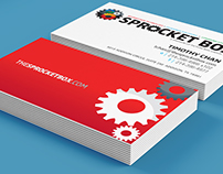 Sprocket Box Identity + Collateral