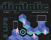 Cover Digitalic Magazine /06/2018 _n.74