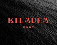 KILAUEA Font