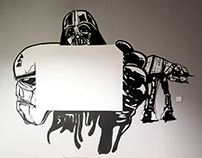 Star Wars Meeting Room Mural