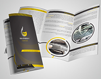 Glossy Services Brochure Design