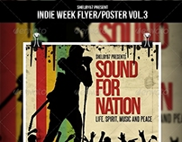 Indie Week Flyer / Poster Vol.3