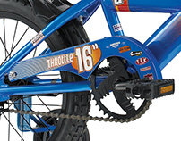 Torker Throttle Bicycle Graphics