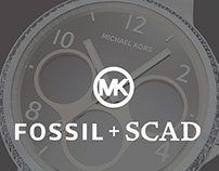 Fossil/MK + SCAD Collaboration
