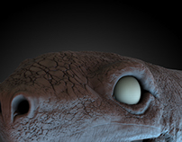 Turtle 3d sculpt