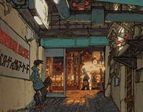100 Views of Tokyo(86〜90)