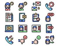 Custmer Service Icons