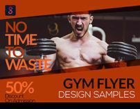 Gym Flyer Design Samples