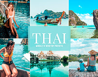Free Thai Mobile & Desktop Lightroom Presets