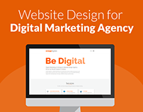 Website Design and Development for Digital Agency