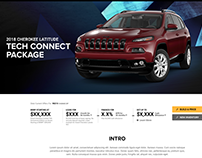 Jeep.com 2018 Limited Edition pages