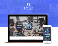 Optima - Multipurpose PSD Template