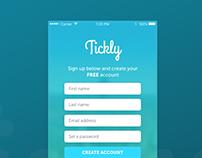 To-do app, sign up screen design - Daily UI #001