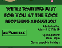 Zoo Reopening Poster