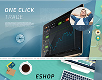Website template no2 for Binary Options company